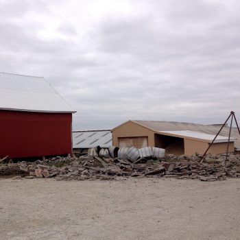 The silos have been safely felled!