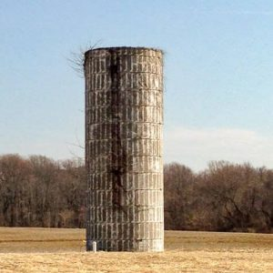 A typical silo from the 1940's.